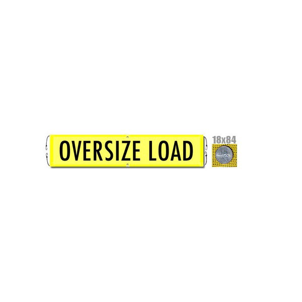 Oversize Load Banner With Bungee Value Gear Truck