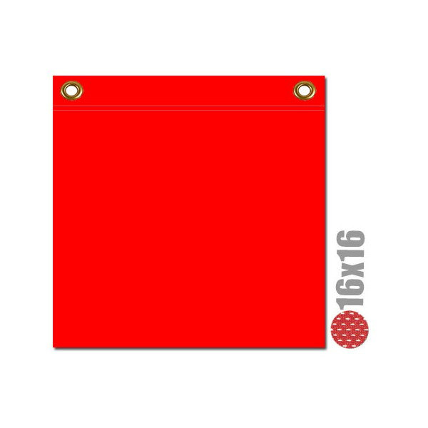 Safety Flag With Brass Grommets (irongear)