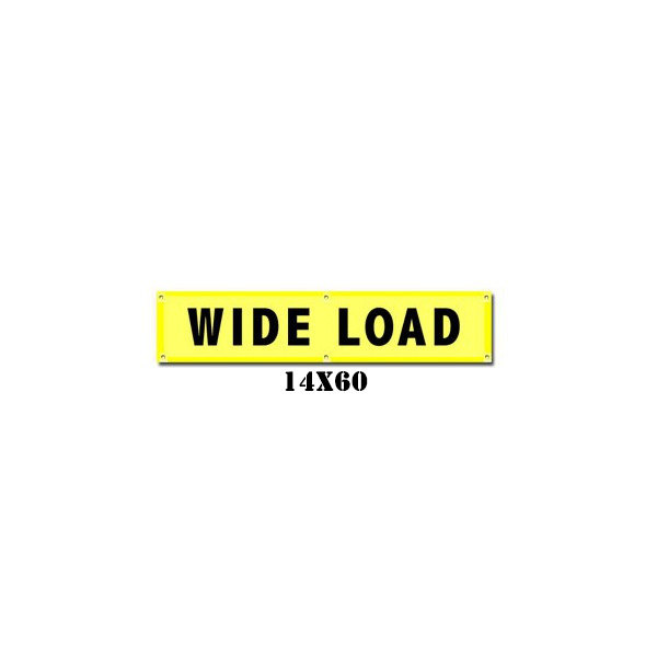 Wide Load Banner w/ Brass Grommets (irongear)