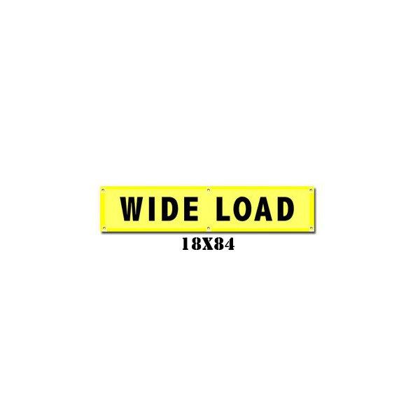 Wide Load Banner w/ Brass Grommets (irongear)