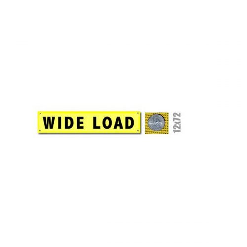 Wide Load Banner w/ Brass Grommets (valuegear)